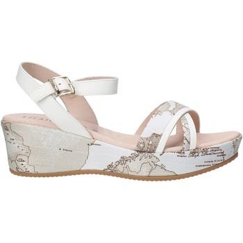 Čevlji  Deklice Sandali & Odprti čevlji Alviero Martini 0641 0910 Biely