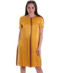 Oblačila Ženske Kratke obleke Café Noir JA6260 Rumena