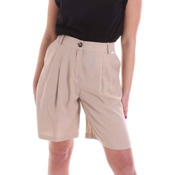 Oblačila Ženske Kratke hlače & Bermuda Café Noir JP6030 Bež