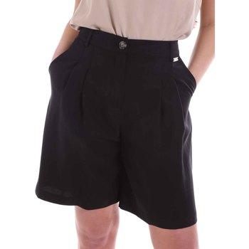 Oblačila Ženske Kratke hlače & Bermuda Café Noir JP6030 Črna