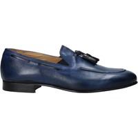 Čevlji  Moški Mokasini Exton 1026 Modra