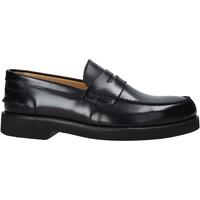 Čevlji  Moški Mokasini Exton 2102 Črna