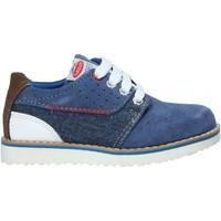 Čevlji  Otroci Čevlji Derby Balducci AG-1181 Modra