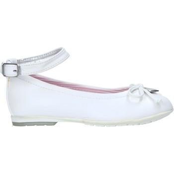 Čevlji  Deklice Balerinke Balducci AG-501 Biely