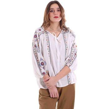 Oblačila Ženske Topi & Bluze Alessia Santi 011SD45039 Biely
