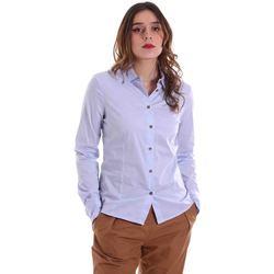Oblačila Ženske Srajce & Bluze Alessia Santi 011SD45049 Modra