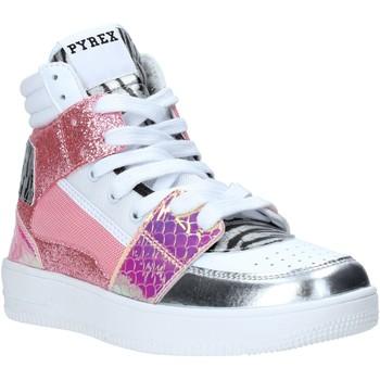 Čevlji  Ženske Visoke superge Pyrex PY050111 Roza