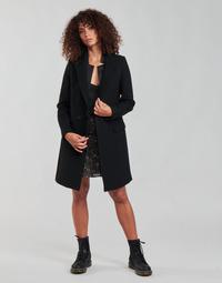 Oblačila Ženske Plašči Ikks BETA Črna