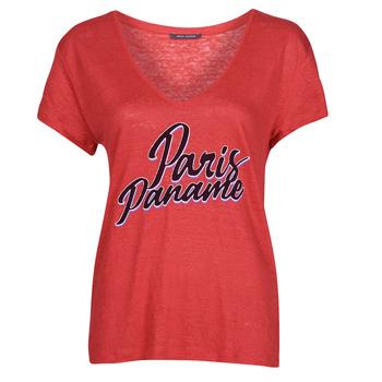 Oblačila Ženske Majice s kratkimi rokavi Ikks CARRY Rdeča