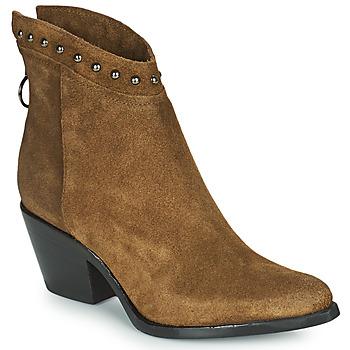 Čevlji  Ženske Gležnjarji Mjus TEP Taupe