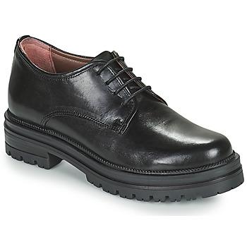 Čevlji  Ženske Čevlji Derby Mjus DOBLE DERBY Črna