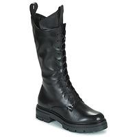 Čevlji  Ženske Mestni škornji    Mjus BEATRIX HIGH Črna
