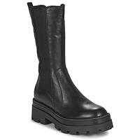 Čevlji  Ženske Mestni škornji    Mjus LATERAL Črna
