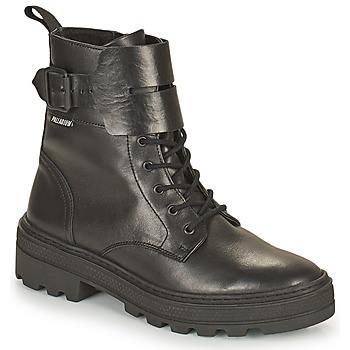 Čevlji  Ženske Polškornji Palladium Manufacture CULT 03 NAP Črna