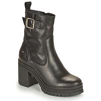Čevlji  Ženske Gležnjarji Palladium Manufacture MONA 01 NAP Črna