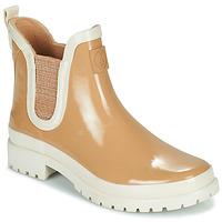Čevlji  Ženske škornji za dež  Armistice DROP BEETLE W Bež