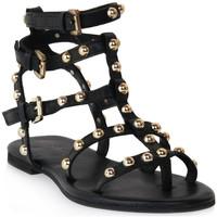 Čevlji  Ženske Sandali & Odprti čevlji Mosaic 1600 VITELLO NERO Nero