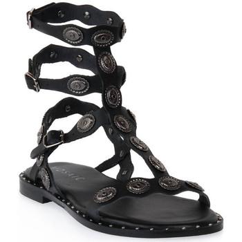 Čevlji  Ženske Sandali & Odprti čevlji Mosaic 3030 VITELLO NERO Nero