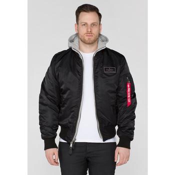 Oblačila Moški Športne jope in jakne Alpha Veste  MA-1 D-Tec noir
