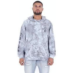 Oblačila Moški Puloverji Sixth June Sweatshirt  Custom Tie Dye gris anthracite/rose hibiscus