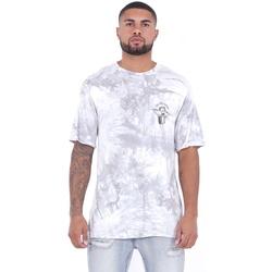 Oblačila Moški Majice s kratkimi rokavi Sixth June T-shirt  Custom Tie Dye blanc/rose