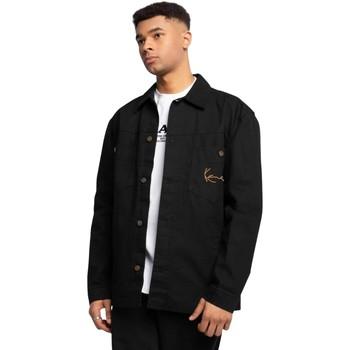 Oblačila Moški Športne jope in jakne Karl Kani Chemise  Small Signature noir