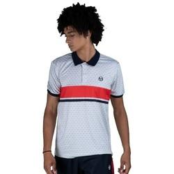 Oblačila Moški Polo majice kratki rokavi Sergio Tacchini Polo  Ansley white/red