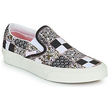Čevlji  Slips on Vans SLIP ON Črna / Bela / Rožnata
