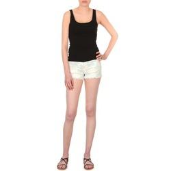Oblačila Ženske Kratke hlače & Bermuda School Rag SELENA FLOWERS Bela