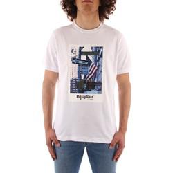 Oblačila Moški Majice s kratkimi rokavi Refrigiwear JE9101-T24400 WHITE