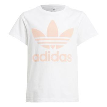 Oblačila Otroci Majice s kratkimi rokavi adidas Originals VAGUO Bela