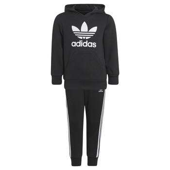 Oblačila Otroci Trenirka komplet adidas Originals SOURIT Črna