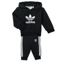 Oblačila Otroci Otroški kompleti adidas Originals TROPLA Črna