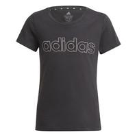 Oblačila Deklice Majice s kratkimi rokavi adidas Performance PLAKAT Črna