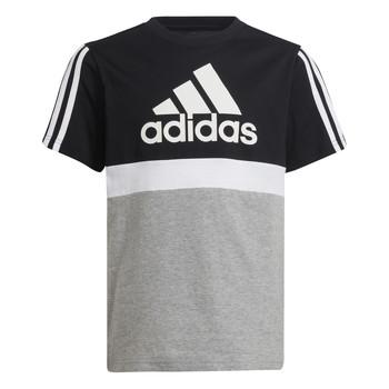 Oblačila Dečki Majice s kratkimi rokavi adidas Performance MOULITA Siva / Črna
