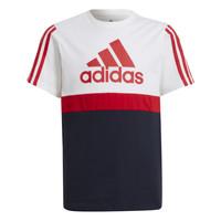 Oblačila Dečki Majice s kratkimi rokavi adidas Performance GUILIA Bela