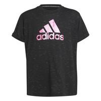 Oblačila Deklice Majice s kratkimi rokavi adidas Performance MONICA Črna