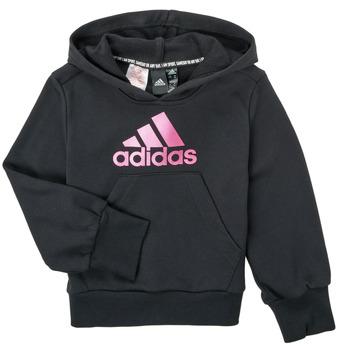 Oblačila Deklice Puloverji adidas Performance KINOM Črna