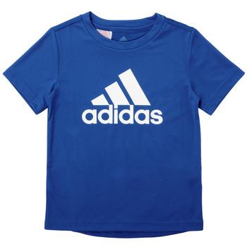 Oblačila Dečki Majice s kratkimi rokavi adidas Performance CLAUDIA Modra