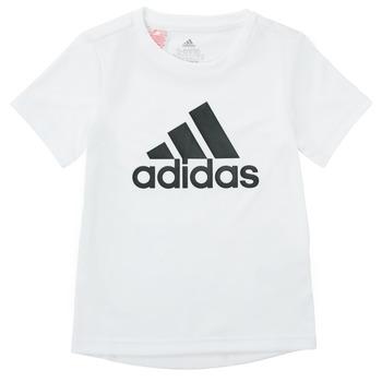 Oblačila Dečki Majice s kratkimi rokavi adidas Performance NADEGE Bela