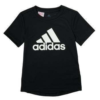 Oblačila Dečki Majice s kratkimi rokavi adidas Performance NADGED Črna