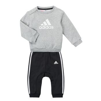 Oblačila Dečki Otroški kompleti adidas Performance SONIA Siva / Črna