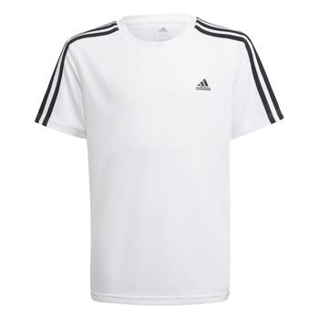 Oblačila Dečki Majice s kratkimi rokavi adidas Performance AYMERICA Bela