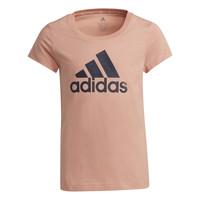 Oblačila Deklice Majice s kratkimi rokavi adidas Performance ALBERIC Rožnata