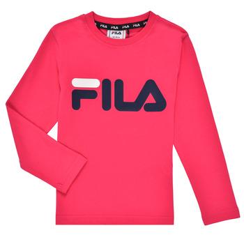 Oblačila Deklice Majice z dolgimi rokavi Fila ESPIN Rožnata