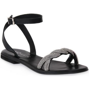 Čevlji  Ženske Sandali & Odprti čevlji Mosaic NERO SHINE Nero