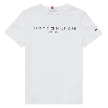 Oblačila Dečki Majice s kratkimi rokavi Tommy Hilfiger SELINERA Bela