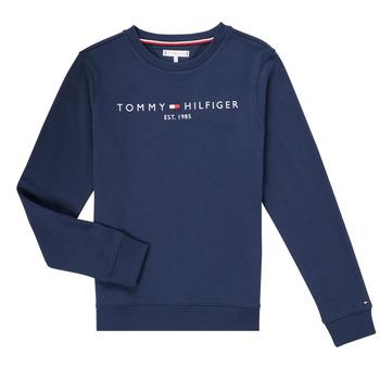 Oblačila Dečki Puloverji Tommy Hilfiger TERRIS Modra