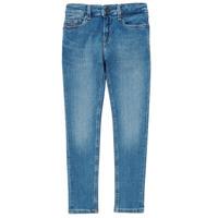 Oblačila Dečki Jeans skinny Tommy Hilfiger SIMON Modra