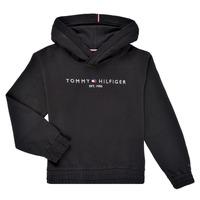 Oblačila Deklice Puloverji Tommy Hilfiger DEMINRA Črna